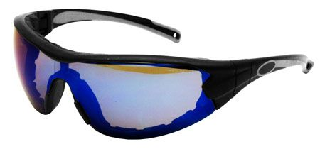 Swap Safety Glasses / GOGGLES - Blue Mirrored Lens