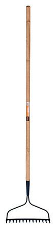 14 - Tine Professional Bow Rake - Wooden