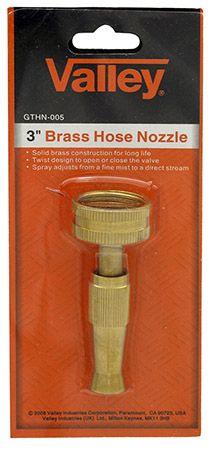 """3"""" Brass Hose Nozzle"""