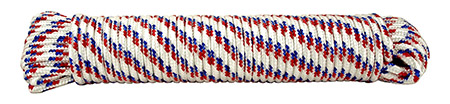 ''100' x .38'''' DIAMOND Braid Poly Rope''