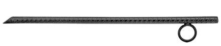 """15"""" Rebar Stake - Black"""