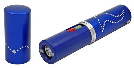 350KV LIPSTICK Stun Gun - Blue
