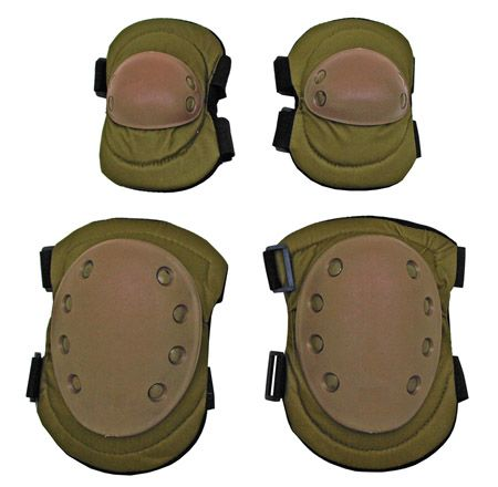 Advanced Elbow and Knee Pads - Tan