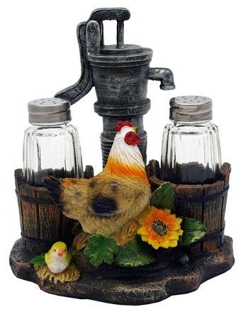 Pump up the Spice Salt & Pepper Shaker