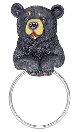 Hugo Bear Hand TOWEL Holder