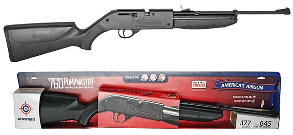 Crosman .177 Cal Pumpmaster 760 Rifle  - Remanufactured