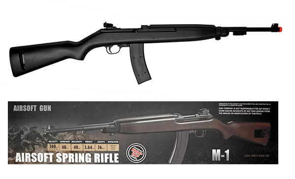 M-1 WWII Spring AIRSOFT Rifle