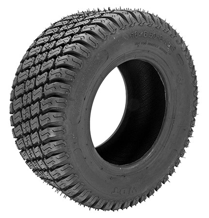 16 x 6.50-8 2 Ply Tubeless Turf Tire