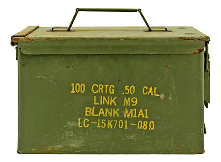 100 CRTG .50 Cal Ammo Box