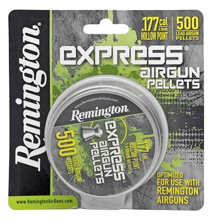 500-pc. Remington .177 Caliber Pellets - Hollow Point