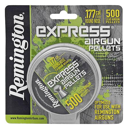 500-pc. Remington .177 Caliber Pellets - Round Nose
