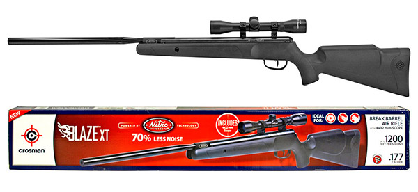 Crosman Blaze XT .177 Caliber Air Rifle