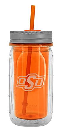 16-oz OSU Mason Jar Water Bottle