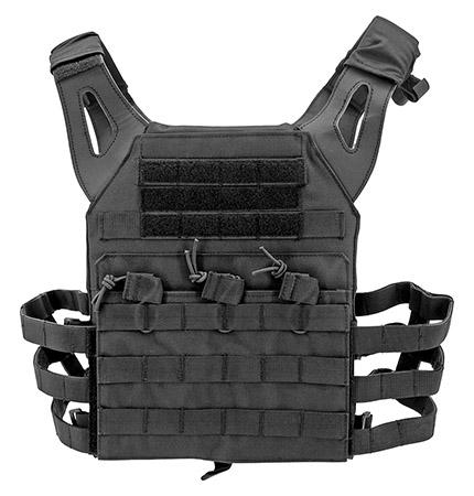Junior Padded Tactical VEST - Black
