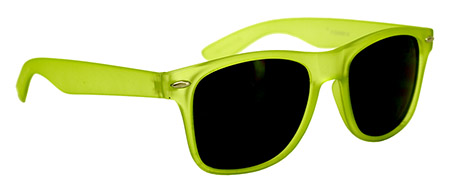 12 - pk. SUNGLASSES - Lime Green