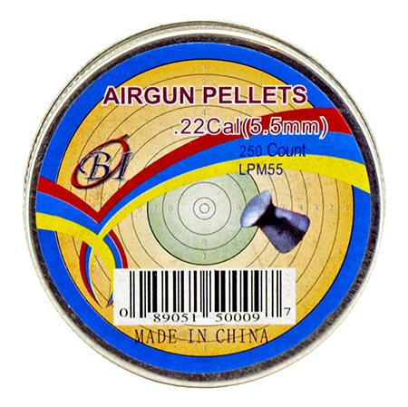 500 - ct. .22 Cal Airgun Pellets