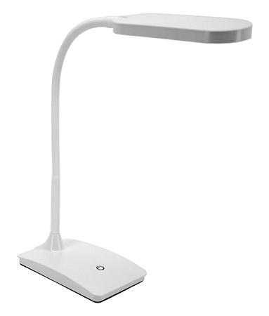 IVY LED USB Desk Lamp - White