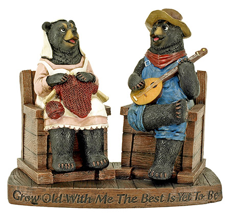 A Bear and His Honey Statue