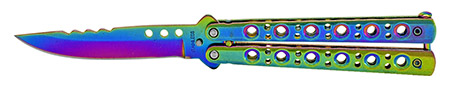 """4.75"""" Stainless Steel Butterfly Knife"""