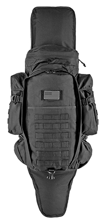 East West 9.11 Tactical Full Gear Rifle Backpack - Black