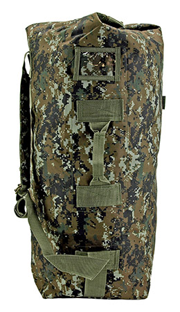 Military Duffle - Green Digital Camo