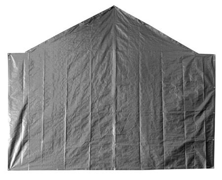 End Tarp for 18' Opening - Silver