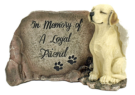 All Dogs Go to Heaven - Dog Statue