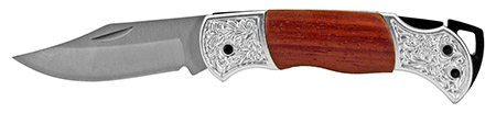 """4"""" Classical Pocket Knife - Silver"""