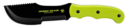 """11"""" Hunting Knife - Zombie Green"""
