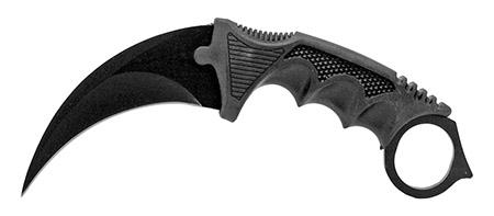 """7.5"""" Claw Knife - Black"""