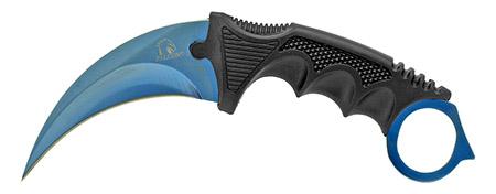 """7.5"""" Claw Knife - Blue"""