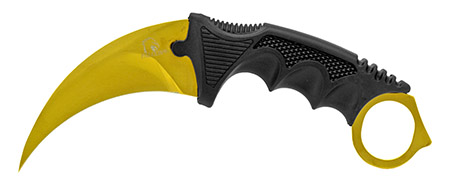 """7.5"""" Claw Knife - Golden"""
