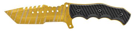 """9"""" Full-Tang Hunting Knife - Golden"""