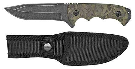 ''9'''' Drop Point Tactical KNIFE - Leaf Camo''