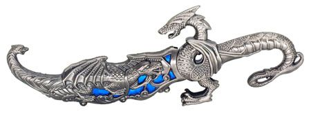 ''10'''' DRAGON Knife - Blue''