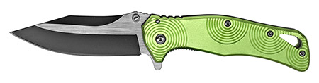 ''4.5'''' Spring Assist Folding KNIFE - Green''