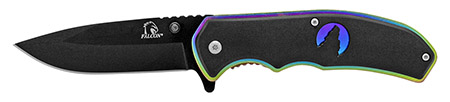 ''4.5'''' Silhouette Spring Assisted Folding KNIFE - Titanium''