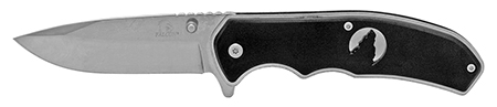 ''4.5'''' Silhouette Spring Assisted Folding KNIFE - Silver and Black''