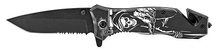 ''4.75'''' Grim Reaper Folding Knife''