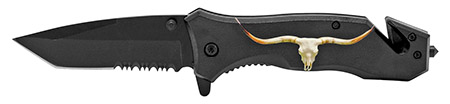 ''4.75'''' Longhorn Folding Knife''