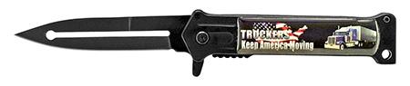 ''4.75'''' Trucker's Stiletto Folding KNIFE''