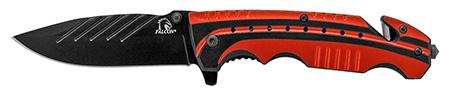 ''4.5'''' Sportsman Folding KNIFE - Red''