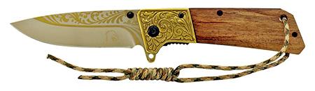 ''4.75'''' Western POCKET KNIFE - Golden''