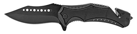 """4.75"""" Modern Pocket Knife - Black"""