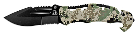 ''4.75'''' Tactical Rescue Folding KNIFE - Digital Camo''