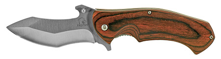 ''4.75'''' Spring Assisted Tactical KNIFE - Wooden''