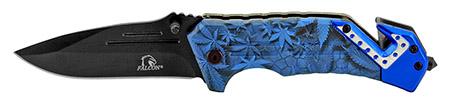''4.5'''' Spring Assisted Tactical KNIFE - Blue Colorado Camo''