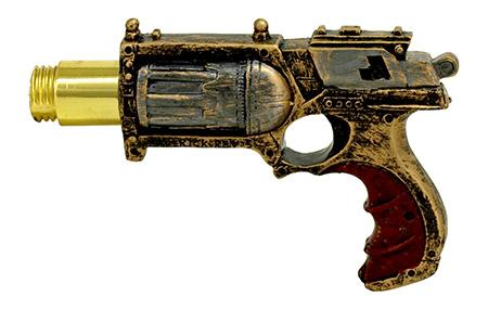 Steampunk Pistol Walking Cane with Blade