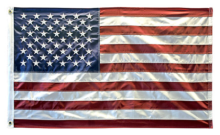 10' x 15' Embroidered American FLAG