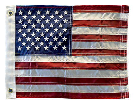 ''12'''' x 18'''' USA Embroidered Boat FLAG''